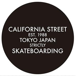 スケートボードのCALIFORNIA STREETさま